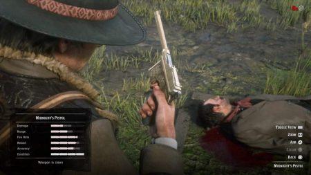 rdr 2 como conseguir todas las armas raras y únicas
