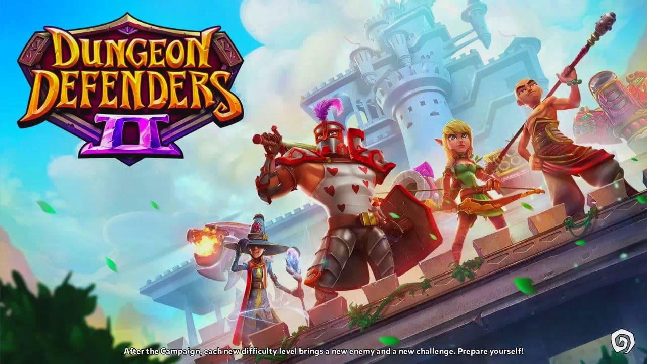 códigos de Dungeon Defenders 2