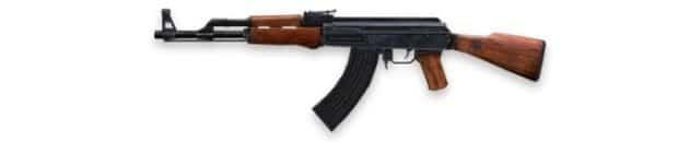melhor rifle de assalto de Free Fire