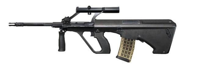 novos rifles de assalto de Free Fire