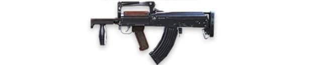 o melhor rifle de assalto de Free Fire