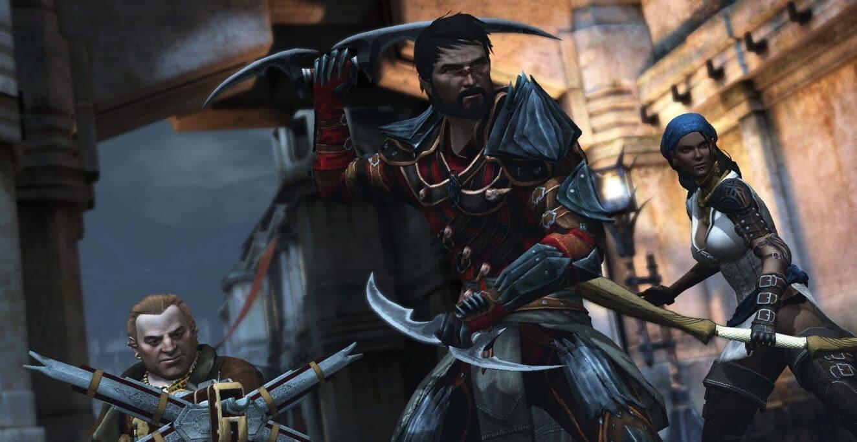 comandos de Dragon Age II
