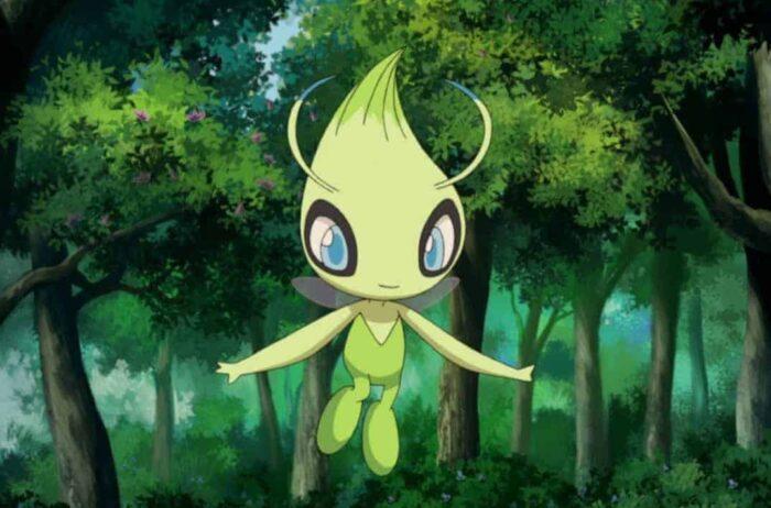 Celebi Shiny Pokémon