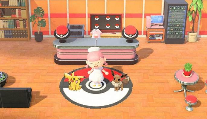 Pokémon Animal Crossing